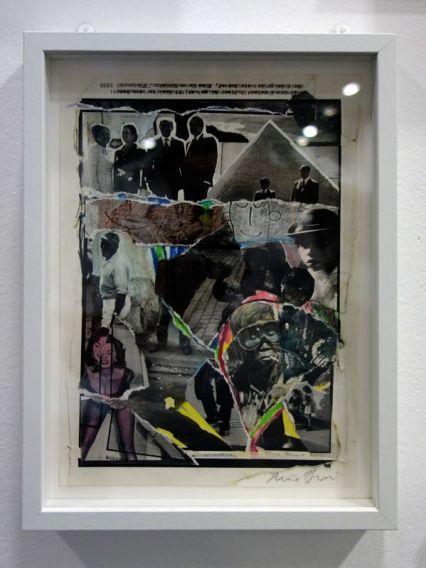 René Burri, Collage, 1980 - Les pyramides imaginaires aux Renconres Arles 2018