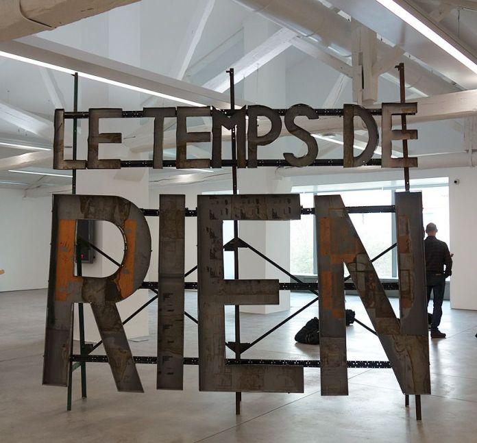 Richard Baquié, Sans titre, 1985 - La complainte du progrès au MRAC - Vue de l'exposition