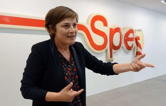 Sandra Patron directrice du MRAC et commissaire de l'exposition La complainte du progrès