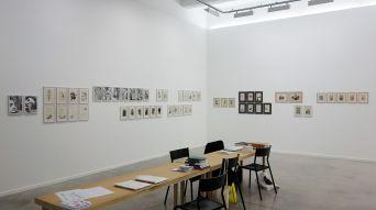 Drawing room 018 à La Panacée - Montpellier - Galerie Nadja Vilenne - Benjamin Monti