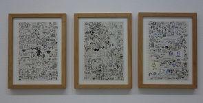 Drawing room 018 à La Panacée - Montpellier - Galerie Anne Barrault - Jochen Gerner