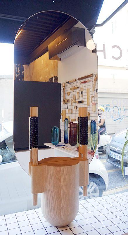 Samy Rio - Miroir Totem - Esthétiques totémiques chez Archik à Marseille
