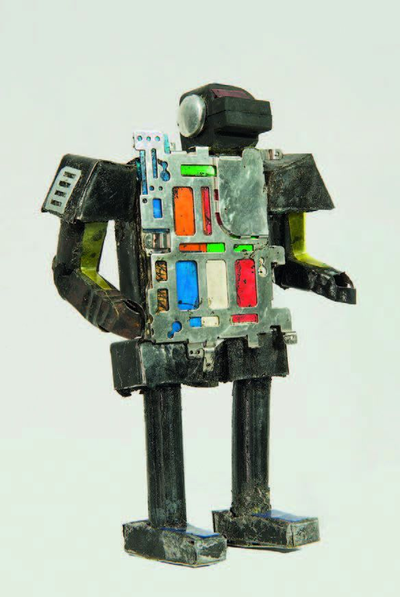 Bienvenu Nanga, Robot (2018)