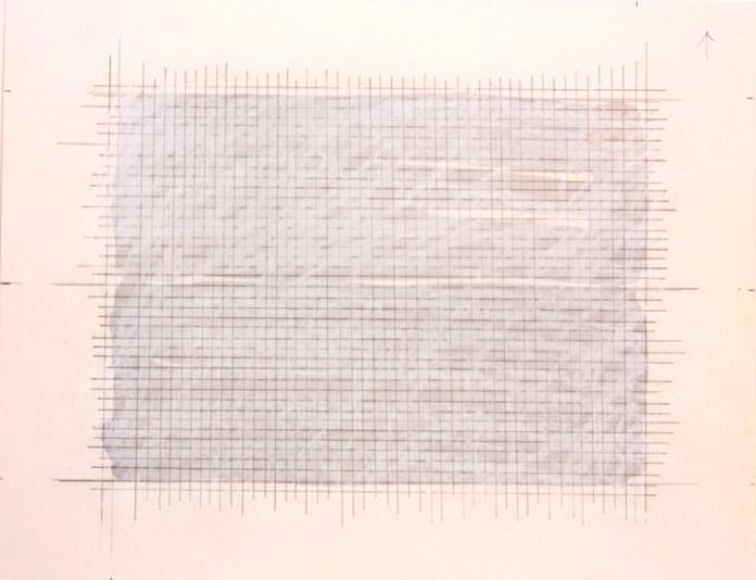 Eve Gramatzski, crayon et aquarelle sur papier. Photo © galerie ALMA