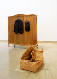 Khalil Rabah - Womb, 1999 et Inside Out, 2002 - Exposition Ligne de fuite - Carré d'art - Nîmes