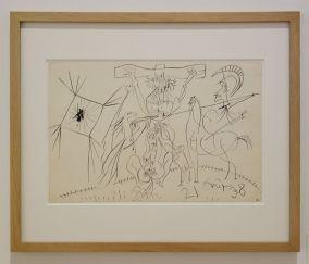 Picasso - La Crucifixion, 21 août 1938