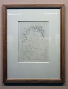 Picasso - Suite Vollard - exposition au Musée Fabre - Atelier du sculpteur