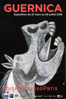 PicassAffiche de l'exposition Guernica au musée Picasso-Pariso_Guernica_Affiche_web