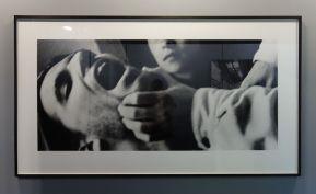 Sam Samore, Fictions, 1997 - Cabinet graphique - Isabelle Cornaro - exposition Blue Spill au Mrac -Sérignan
