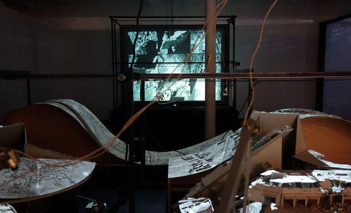 Alain Josseau (FR) – Automatique War – Supervisions - Des tentatives d'envol au regard vertical - Biennale Chroniques - Friche la Belle de Mai