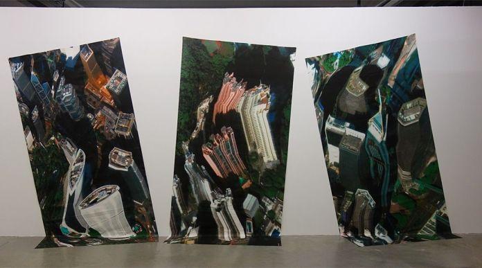 Clement Valla – Universal Texture – Supervisions - Des tentatives d'envol au regard vertical - Biennale Chroniques - Friche la Belle de Mai