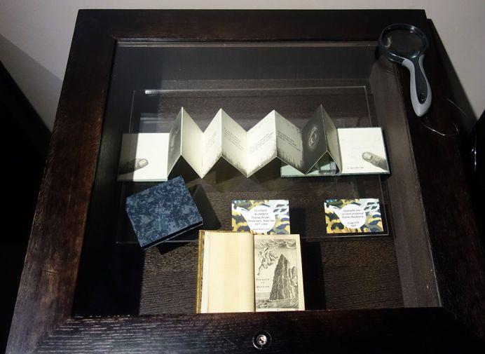 Epigraphe pour un livre condamné, Charles Baudelaire et La religion du médecin, Thomas Brown, XVIIe siècle - Exposition Verdigris- le noir en filigrane au musée Médard Lunel