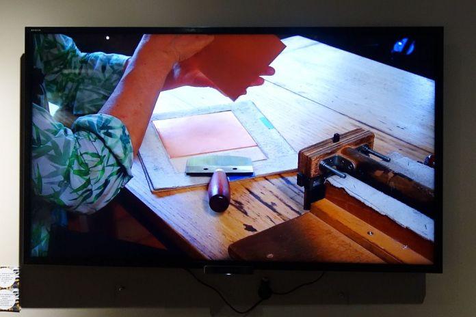 Gravure en manière noire et livres d'artiste - film de Patrick Avrillon et Pierre Davidovici - Exposition Verdigris- le noir en filigrane au musée Médard Lunel