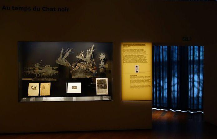 Georges Henri Rivière Voir, c'est comprendre au Mucem - Au temps du Chat noir - Vue de l'exposition