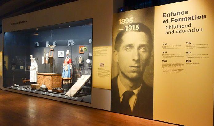 Georges Henri Rivière Voir, c'est comprendre au Mucem - Du berceau à la tombe - Vue de l'exposition