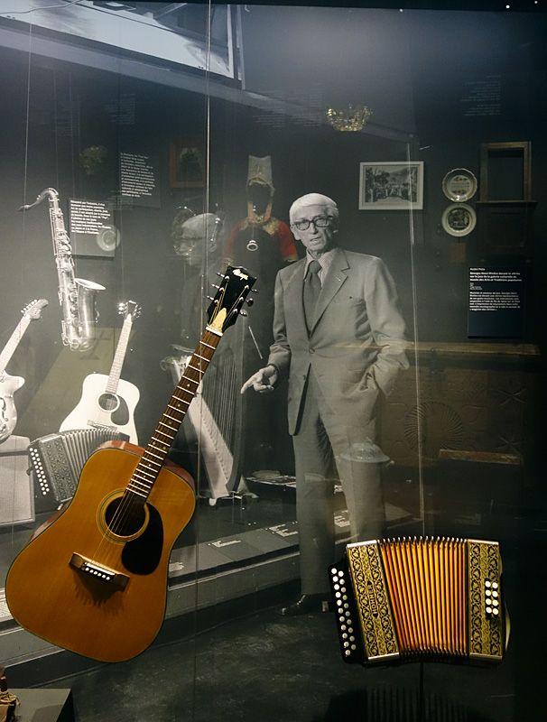 Georges Henri Rivière Voir, c'est comprendre au Mucem - L'homme orchestre - Vue de l'exposition