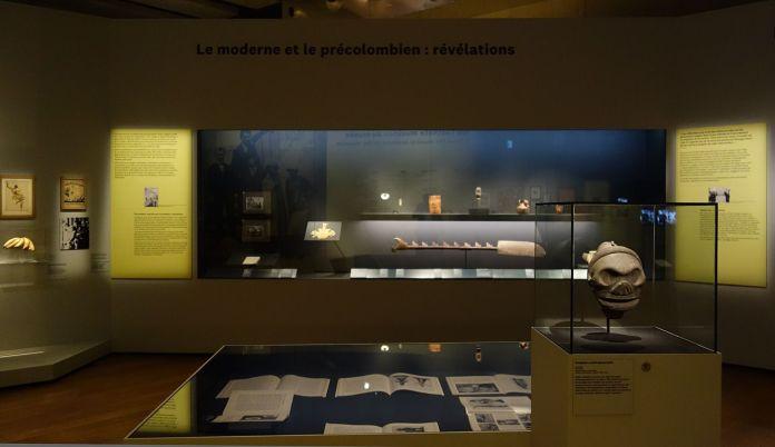 Georges Henri Rivière Voir, c'est comprendre au Mucem - Le moderne et le précolombien - Vue de l'exposition