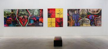 Gilbert & George, The Great Exhibition, 1971-2016 - Luma Arles - Vue de l'exposition à la Mécanique Générale 15