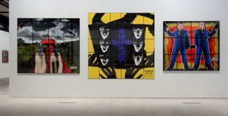 Gilbert & George, The Great Exhibition, 1971-2016 - Luma Arles - Vue de l'exposition à la Mécanique Générale 16