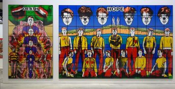 Gilbert & George, The Great Exhibition, 1971-2016 - Luma Arles - Vue de l'exposition à la Mécanique Générale 20