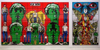 Gilbert & George, The Great Exhibition, 1971-2016 - Luma Arles - Vue de l'exposition à la Mécanique Générale 21