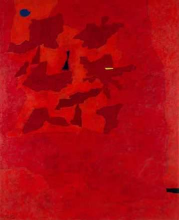 Gustave Singier Haute-ProvenceIII 1960 Huile sur toile 162 x 130cm Coll. part., Suisse © ADAGP, Paris2018