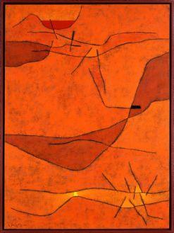 Gustave Singier (1904-1984) Provence collines, 1959 Huile sur toile, 130 x 96,5 cm Collection particulière ADAGP, Paris 2018