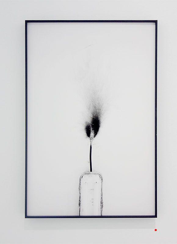 La Saga II - Double V Gallery – Gilles Pourtier - Sans titre, 2018 - «Si mes larmes coulaient dans tes yeux»