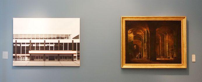 Le rêve de la fileuse - trois collections en dialogue au Musée Fabre - François Marius Granet et Lisa Milroy