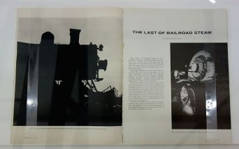 Picture Industry - Luma Arles - Deuxième partie - Walker Evans, The Last of the Railroad Steam, Fortune, Spetembre 1958