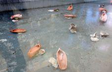 Rodolphe Huguet - Bon Vent au FRAC PACA - Barques dans le bassin