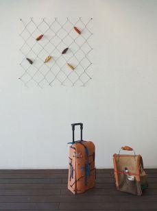 Rodolphe Huguet - Bon Vent au FRAC PACA - Maisons-valises et Pièges à rêves