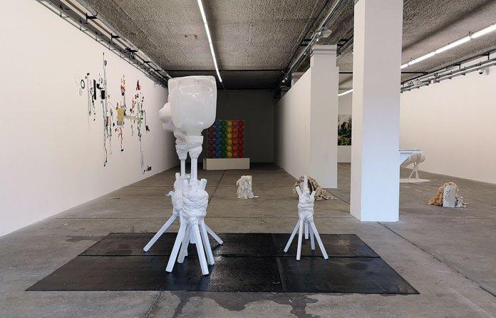 Extension de la pratique des idées à la Friche la Belle de Mai, Marseille - Vue de l'exposition