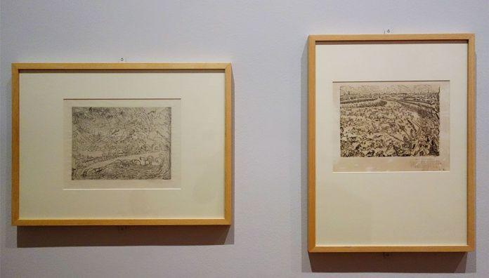 James Ensor, Cathaclysmes, 1888 et La bataille des éprons d'or, 1895 - James Ensor et Alexander Kluge - Siècles noirs à la Fondation Van Gogh Arles