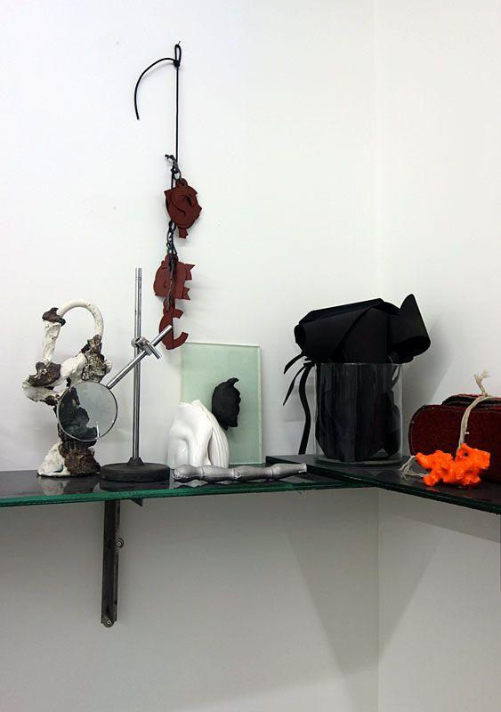 Peter Briggs - Dhadha (détail), 2018 - Biomorphisme à La Friche de la Belle de Mai