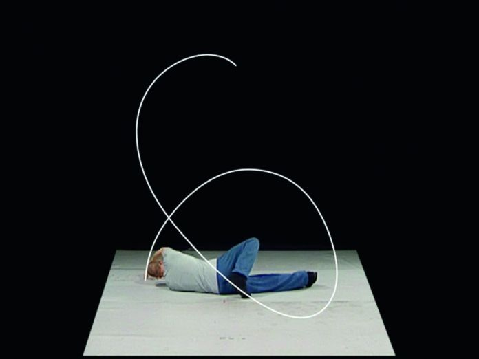 William Forsythe, Lectures from Improvisation Technologies, 2011. Vidéo, couleur, son, 9'40. The Forsythe Company and ZKM, 2011 © Forsythe Productions