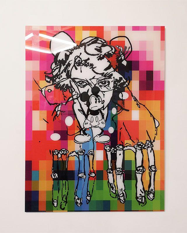 Denis Brun - Ordonnance Vierge - Nowhere à la Numéro 5 Galerie - Montpellier
