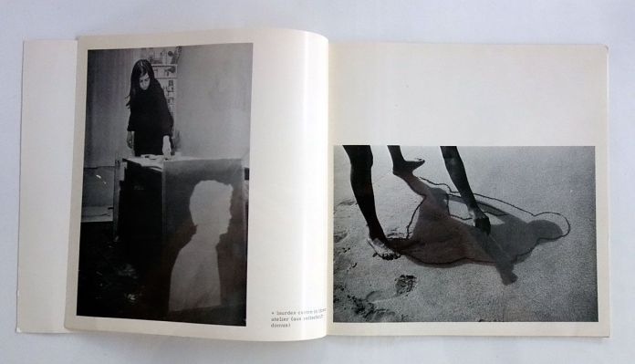 Lourdes Castro - 1968 catalogue édité par la galerie Ernst, Hanovre - Ombres et compagnie au MRAC à Sérignan