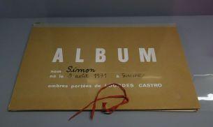 Lourdes Castro - Livre de naissance - Cabinet d'arts graphiques - Ombres et compagnie au MRAC à Sérignan