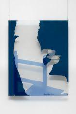 Sans titre, 1966. Peinture sur plexiglas, 94 × 75 cm. Collection Victor Pinto da Fonseca (Portugal)
