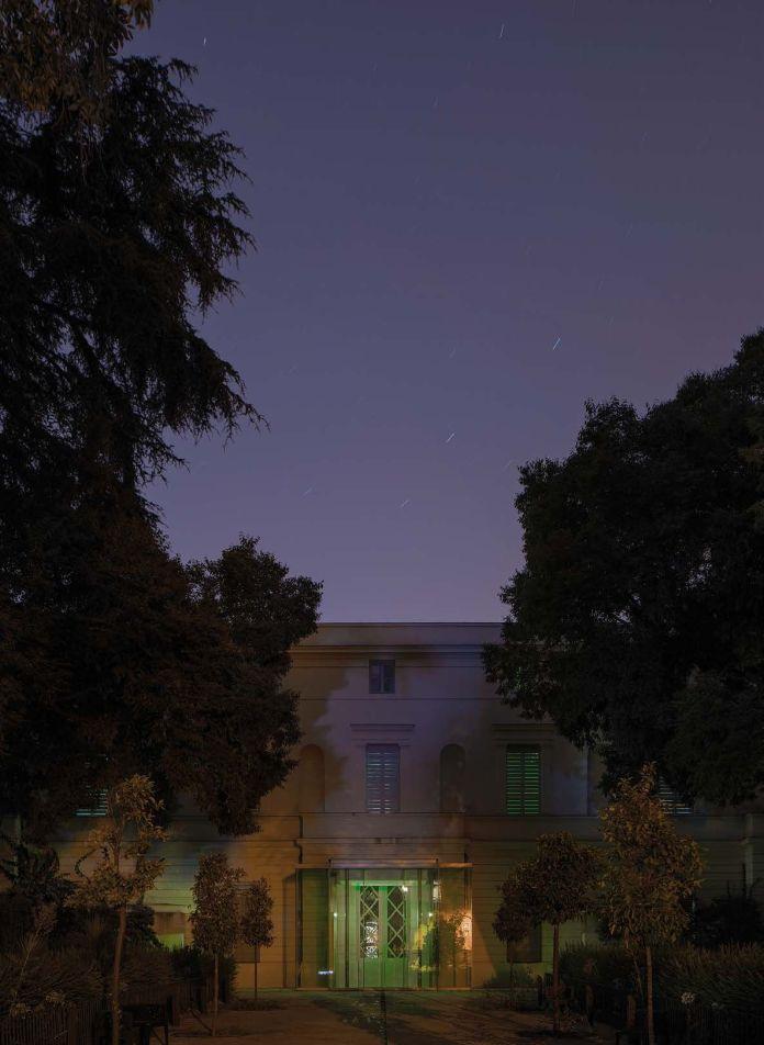 Yohann Gozard - 30.07.2018, 22H35 – 22H39 Montpellier, Hôtel Montcalm - Moco - Vue direction nord-est - Rue de la République ©Yohann Gozard