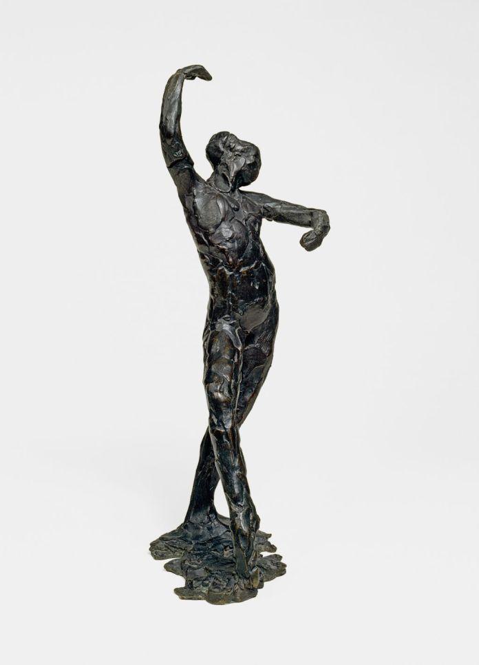 Edgar Degas (1834-1917), Danse espagnole, vers 1896-1911 (fondu vers 1919-1926), Bronze, 40,3 x 16,5 x 17,8 cm Solomon R. Guggenheim Museum, New York, Thannhauser Collection, don Justin K. Thannhauser, 78.2514.9 © David Heald