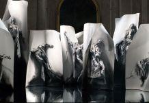 Extases, 2008 © Ernest Pignon-Ernest