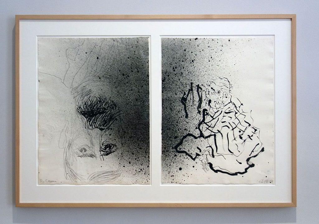 Georg Baselitz à la Fondation Vincent van Gogh Arles - Vue de l'exposition