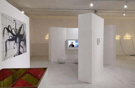 Jeanne Susplugas - Désordre au Château de Servières - Vue de l'exposition. Photo En revenant de l'expo !
