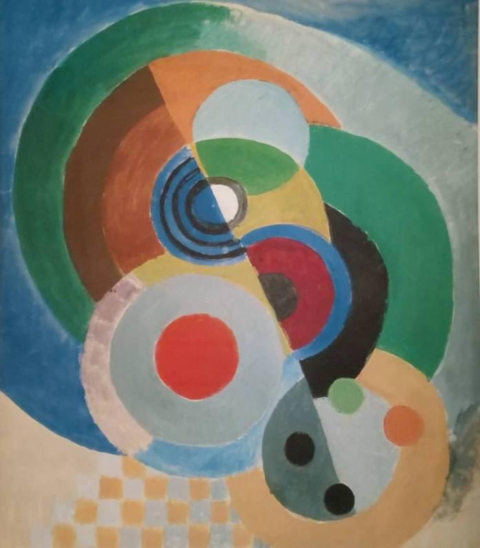 Sonia Delaunay, Rythme couleur, lithographie numérotée vers 1975