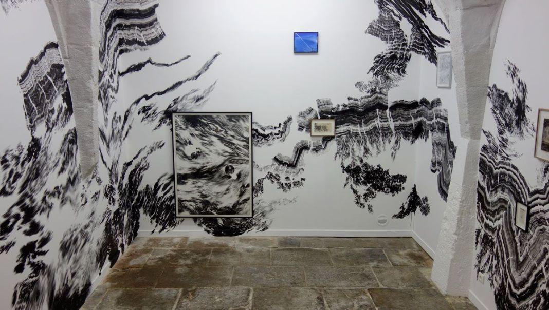Abdelkader Benchamma - La rumeur des cercles (1) à la Galerie chantiers BoiteNoire