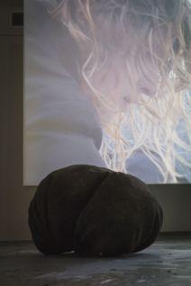Aube immédiate, vents tièdes - oeuvres de Gaëlle Choisne, Jean-Marie Perdrix et Elsa Brès, Mécènes du Sud Montpellier-Sète - Photo Elise Ortiou Campion
