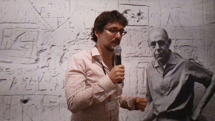 Baptiste Brun, commissaire de l'exposition Jean Dubuffet - Un barbare en Europe au Mucem