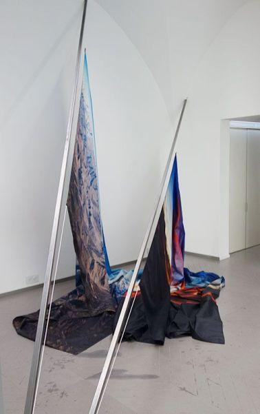 Dimitri Robert-Rimsky - Upland rising, 2017. Photo En revenant de l'expo !